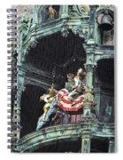 Mechanical Clock In Munich Germany Spiral Notebook