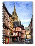 Medieval Vannes France Spiral Notebook