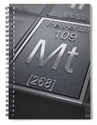 Meitnerium Chemical Element Spiral Notebook