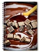 Melting Chocolate Spiral Notebook