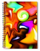 Melting Colors Spiral Notebook