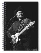 Merle Haggard Spiral Notebook