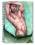 Merman Spiral Notebook
