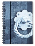 Metal Knocker Spiral Notebook
