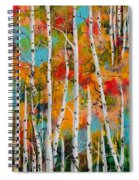 Middle Mountain Aspens Spiral Notebook
