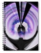 Midnight Bolero Spiral Notebook