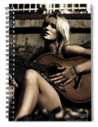 Midnight Musician Spiral Notebook