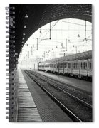 Milan Central Station Spiral Notebook