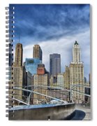 Millennium Skyline  Spiral Notebook