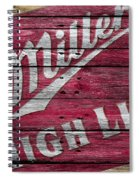 Miller High Life Spiral Notebook