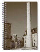 Minneapolis Smokestack Spiral Notebook