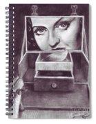 1 Minute Miss Davis Spiral Notebook