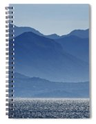 Misty Mountains Spiral Notebook