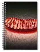 Mitochondria Cut Spiral Notebook