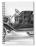Model T Ford, 1908 Spiral Notebook