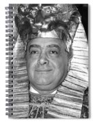Mohamed Al Fayed Spiral Notebook