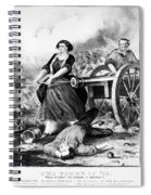 Molly Pitcher (c1754-1832) Spiral Notebook