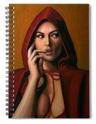 Monica Bellucci Spiral Notebook