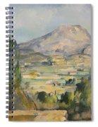 Montagne Saint-victoire Spiral Notebook