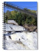 Montmorency Falls Spiral Notebook