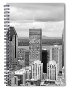 Montreal View Spiral Notebook