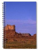 Monument Valley Arizona State Usa Spiral Notebook