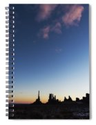 Monument Valley Dawn Spiral Notebook