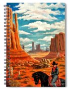 Monument Valley View Spiral Notebook