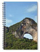 Moon Hill, Yangshuo, China Spiral Notebook