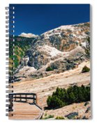 Moon On Earth 2 - Yellowstone Spiral Notebook