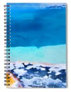 Moon On Earth 4 - Yellowstone Spiral Notebook