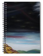 Moon Tower Spiral Notebook