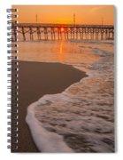 morning at  Myrtle Beach South Carolina Spiral Notebook