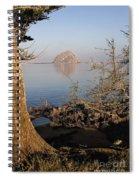 Morro Rock Spiral Notebook