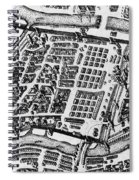 Moscow: Kitai-gorod Map Spiral Notebook
