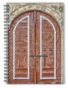 Mosque Doors 09 Spiral Notebook