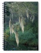 Moss Hanging Over The River Spiral Notebook