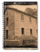 Motor Mill Cooperage Spiral Notebook