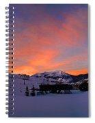 Mount Crested Butte Spiral Notebook