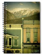 Mountain Town Spiral Notebook