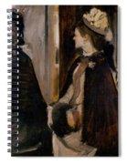 Mrs Jeantaud In The Mirror Spiral Notebook