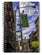 Mulberry St - Nyc Spiral Notebook