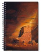 Mummy Cave Ruins Spiral Notebook