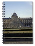 Musee Du Louvre In Paris France Spiral Notebook