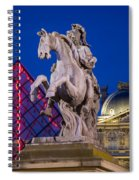 Musee Du Louvre Statue Spiral Notebook