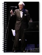 Musician David Brubeck Spiral Notebook