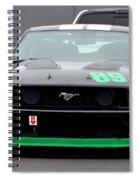 Mustang Race Car Spiral Notebook