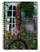 My Old Bike Spiral Notebook