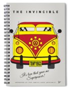 My Superhero-vw-t1-iron Man Spiral Notebook