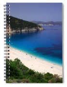 Myrtos Beach Spiral Notebook
